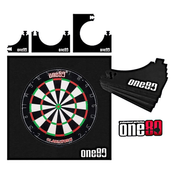ONE80 Vierkante Dartbord Surround