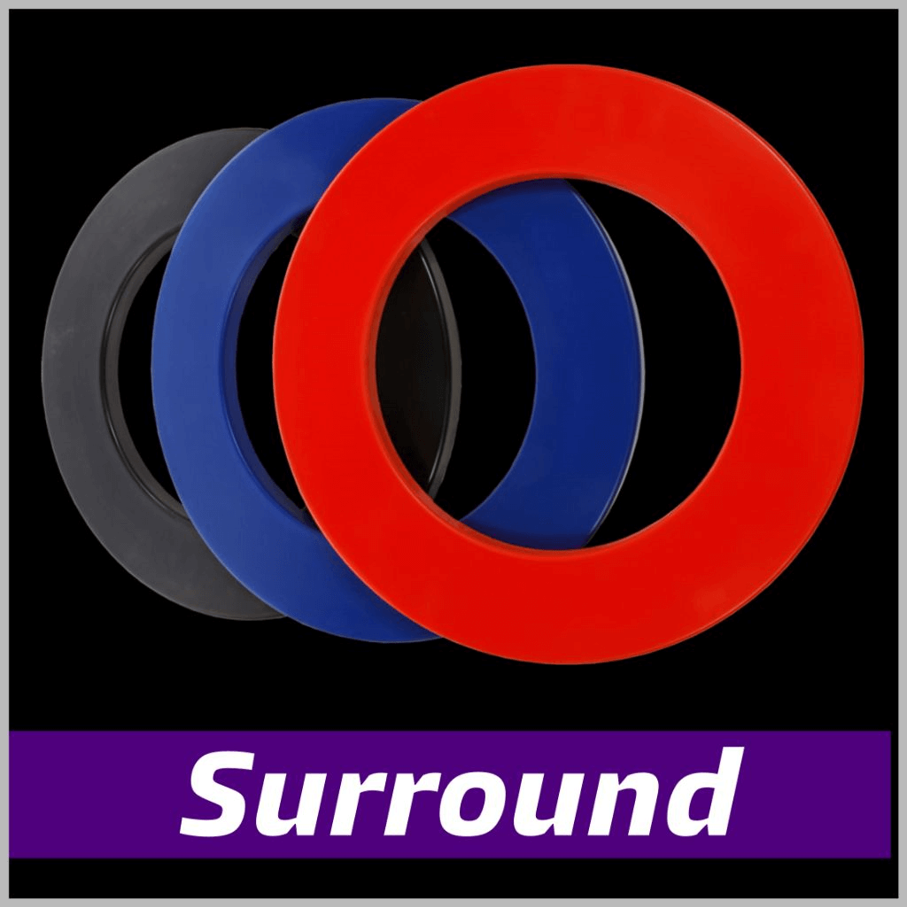 Surround ring voor dartbord