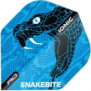 Red Dragon Ionic Flights Snakebite Blue Head