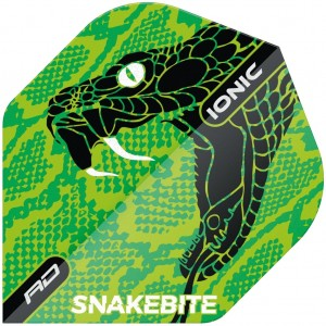 Red Dragon Ionic Flights Snakebite Green Head