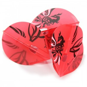 L Style Champagne Dart Flights Dynasty Shape Park Hyunchul Pear Red