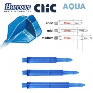 Harrows Clic Blue Shaft standard