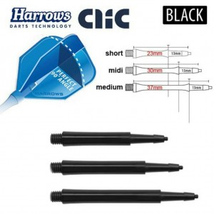 Harrows Clic Black Shaft standard
