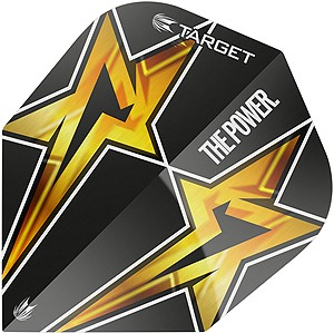 Phil Taylor Black Star NO6 Target Flight