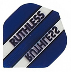 Ruthless Flights Clear Panels Blauw