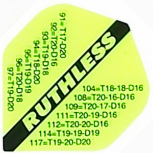Ruthless Checkout Flights Fluo Geel