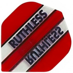 Ruthless Flights Clear Panels Rood