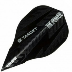 Phil Taylor Ultra Ghost Vapor Edge Black Target Flight