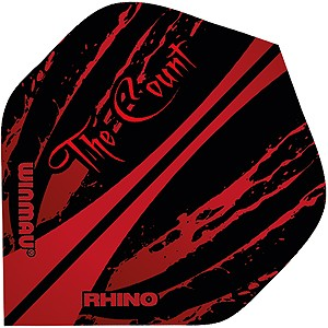 Rhino Ted Hankey ''The Count'' Dart Flights