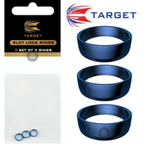 Target Slot Lock Grip Rings Blue