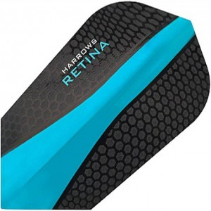 Harrows Retina Slim Flights Aqua