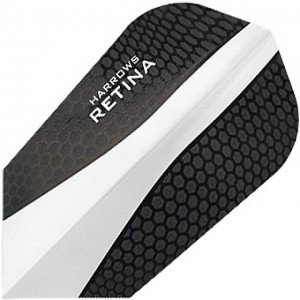 Harrows Retina White Slim Flights