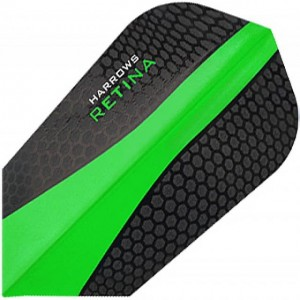 Harrows Retina Slim Flights Groen