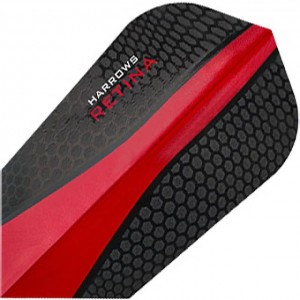 Harrows Retina Slim Flights Rood
