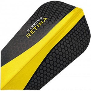 Harrows Retina Slim Flights Geel