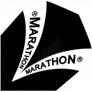 Harrows Marathon Standaard Flights Zwart