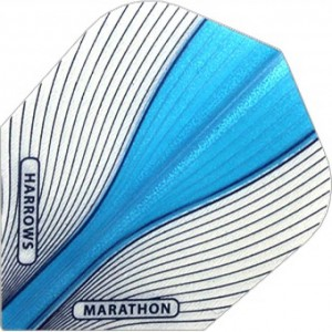 Harrows Marathon Aura Flights Blauw