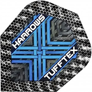 Harrows Tufftex Flights Blauw