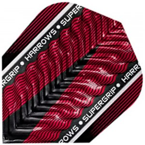 Harrows Supergrip X Flights Rood