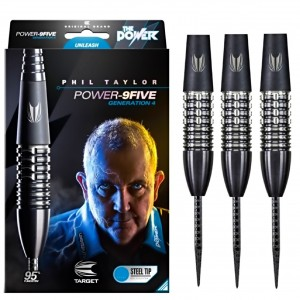 Phil Taylor Gen 4 9Five 95% Dartpijlen 22-24-26 Gram