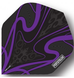 Pentathlon Dart Flights Paars