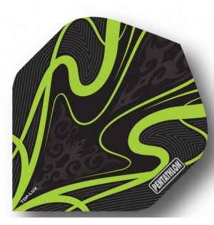 Pentathlon Dart Flights Groen