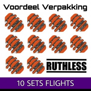 10 Sets Ruthless Clear Panels Oranje