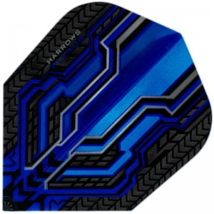 Harrows Plexus Flights Blauw