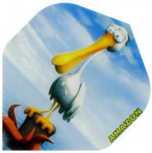 Amazon Cartoon Pelican Flights
