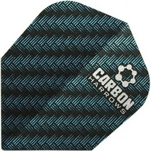 Harrows Carbon Flights Blauw
