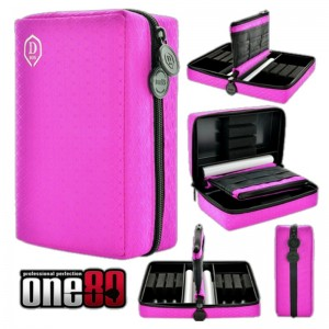 One80 Dubbel D-Box Roze (2 sets darts)