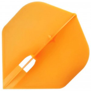 L Style Champagne Dart Flights Standard Orange
