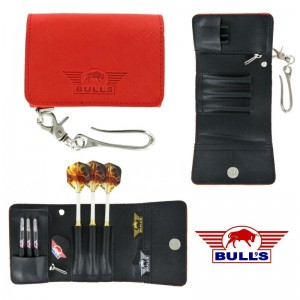 Bull's Fighter Wallet Rood
