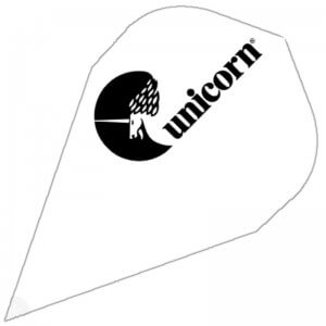 Unicorn Maestro Dart Flights - 100 Micron - DXM - WHITE
