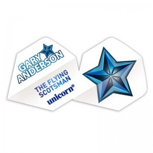 Unicorn Authentic Gary Anderson White Flights