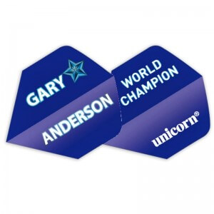 Unicorn Authentic Flights Gary Anderson World Champion 2