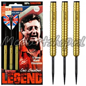 Eric Bristow Legend Crafty Cockney Gold Dartpijlen 22-24-26 Gram