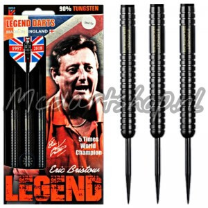 Eric Bristow Legend Crafty Cockney Black 90% Dartpijlen