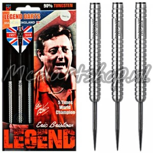 Eric Bristow Legend Crafty Cockney 90% Dartpijlen 22-24-26 Gram