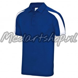 Mcdartshop Coolmax Dart Shirt Blauw Wit