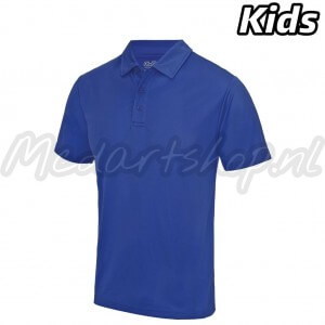 Mcdartshop Coolmax Shirt Kids Blauw