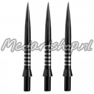 Winmau FreeFlo Black Re-Grooved Points