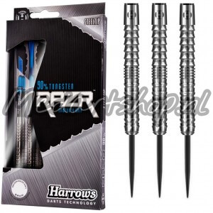 Harrows RazR Parallel 90% Dartpijlen 21-23-25-28-30 Gram