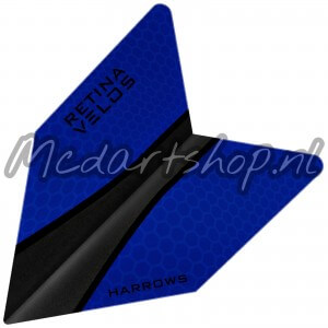 Harrows Retina Velos Flights Blauw
