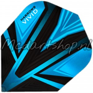Harrows Vivid Flights Aqua