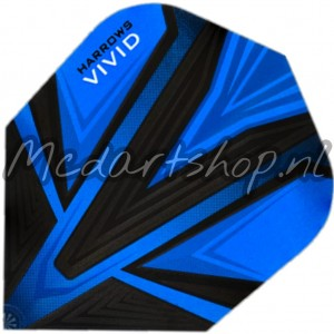 Harrows Vivid Flights Blauw