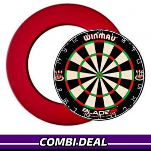 Winmau Blade 5 + Surround Ring Rood