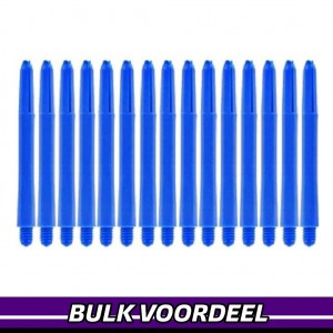 10 Sets Nylon Shafts Blauw