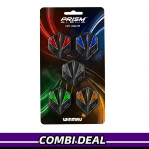 Winmau Prism Alpha Flights Collectie