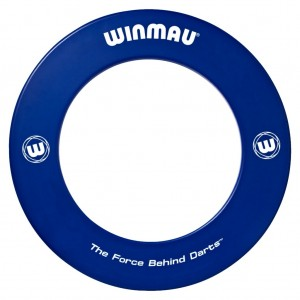 Winmau Surround Ring Bedrukt Blauw